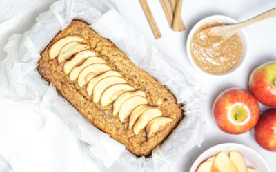 The healthy apple loaf you knead in your life